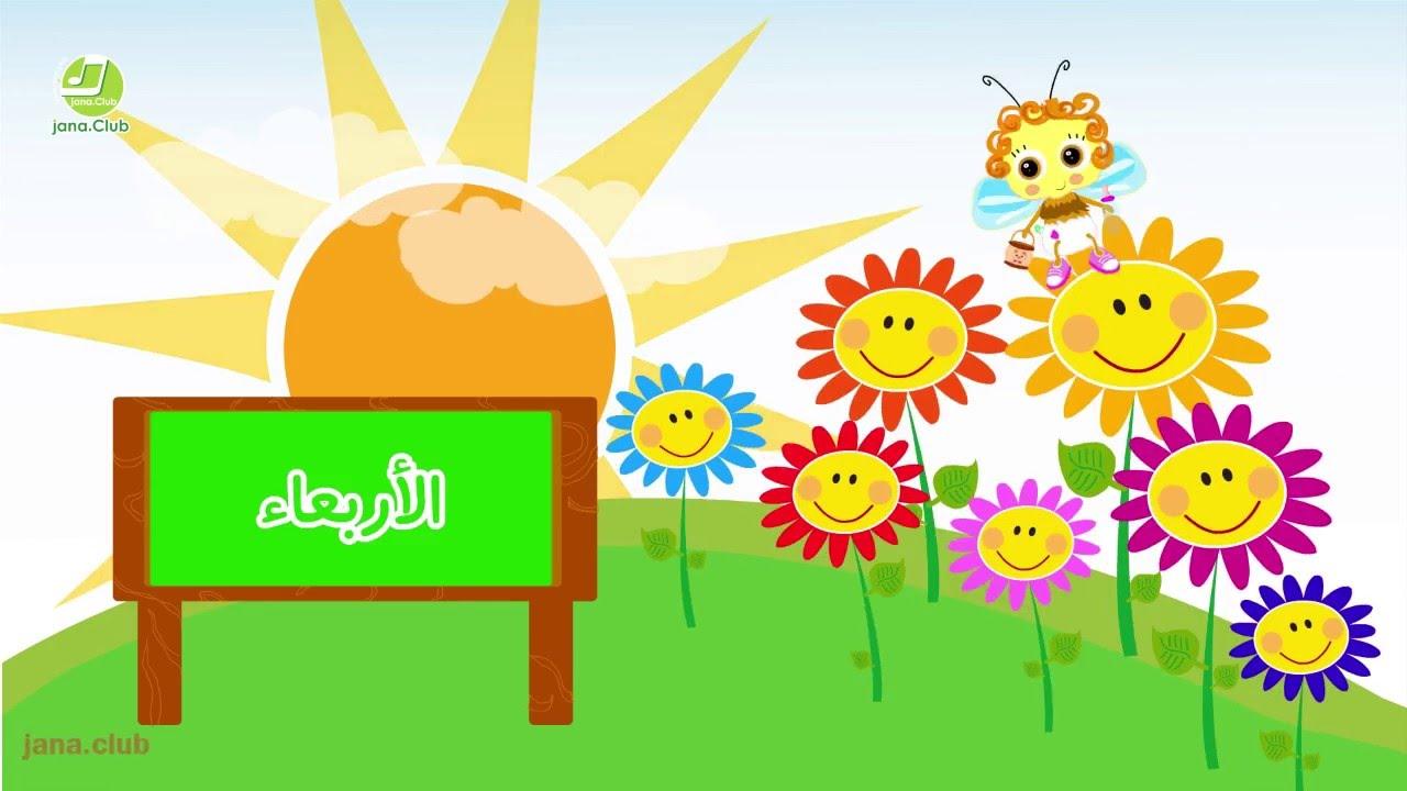 أيام الاسبوع أغنية اطفال عربي فرنسي انجليزي Youtube