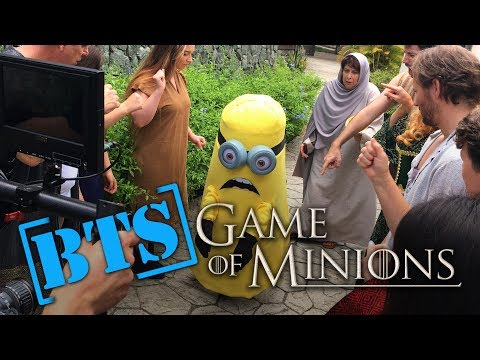 Behind the Scenes - Game of Minions (Game of Thrones / Despicable Me 3 / Minions Parody)