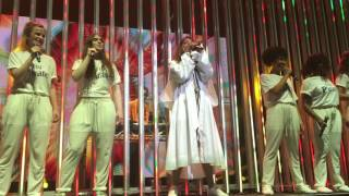 M.I.A. Bird Song and Freedun live at Southbank Centre for Meltdown Festival