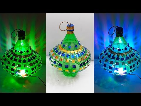 DIY - Lantern/Tealight Holder from Waste plastic bottle at home| DIY Home Decorations Idea