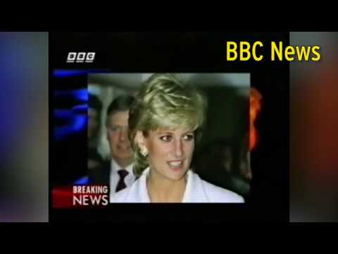 How TV stations broadcast Princess Diana's death