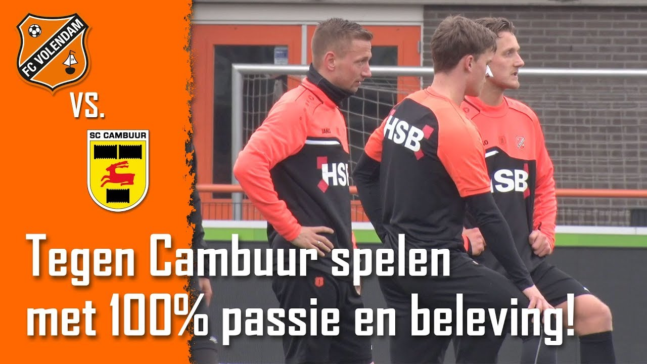 Voorbeschouwing Fc Volendam Cambuur Leeuwarden 18 19 Youtube
