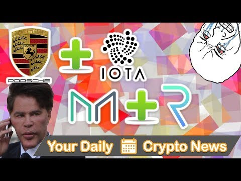 ZRX To Coinbase?, REQ & DAI Coop, IOTA In Project with Porsche