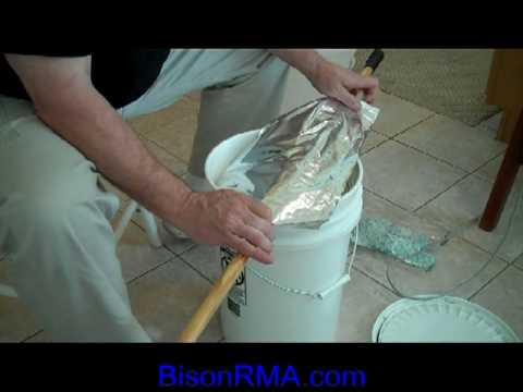 Tutorial:  Long-term food storage in mylar bags and food grade buckets