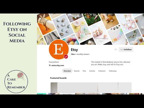 Posting On Etsy's social media for exposure.