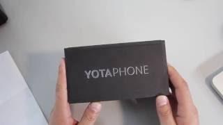 обзор Yotaphone. Знакомство, обучение, часть 1