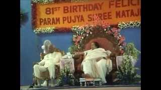 Debu Chaudhuri Sitar Sahasrara (Raag Jhinjhoti Behag) Shri Mataji Birthday 2004 (Sahaja Yoga)