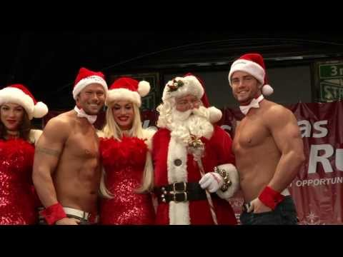 Shania Twain Christmas Charity - Las Vegas Santa Run Video