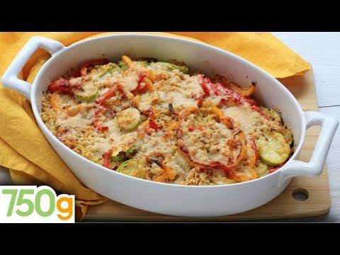 recette-de-gratin-de-légumes-du-soleil-au-blé-et-parmesan---750g