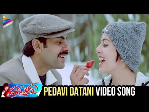 Pawan Kalyan Thammudu Movie Songs - Pedavi Datani Matokati Song - Ramana Gogula