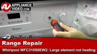 LG Range, Oven, Stove   - Diagnostic & Repair - Not heating - Infinite Switch element
