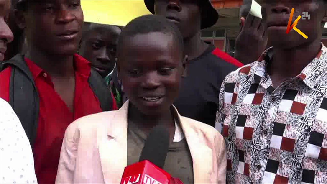 AGAINST ALL ODDS: Street boy scores 336 marks in KCPE