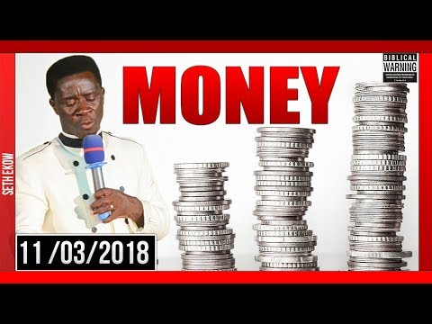 Money Is Not All By Evangelist Akwasi Awuah