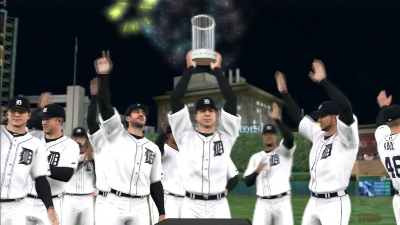 Detroit 60 Series >> MLB 14: The Show - Detroit Tigers World Series Celebration ...