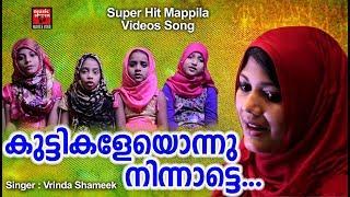 കുട്ടികളെയൊന്നു നിന്നാട്ടെ... Malayalam Mappila Video Album Song | Mappila Pattukal | Vrinda Shameek