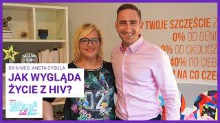 Wszystko, co powinieneś wiedzieć o HIV, dr n.med. Aneta Cybula, 20m2 talk-show, odc. 340