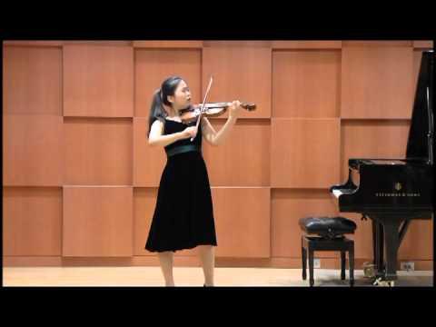 Soobeen Lee(15yrs) - J. S . Bach Partita No.3,  BWV1006