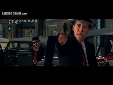 LA Noire - Walkthrough - Mission #2 - Armed and Dangerous