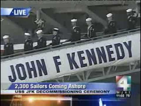 USS John F  Kennedy Decommission Ceremony 2007 Mayport FL