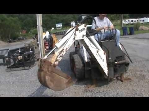 Bobcat 907 Skid Steer Loader Backhoe Attachment For Skid Steer Loader For  Sale