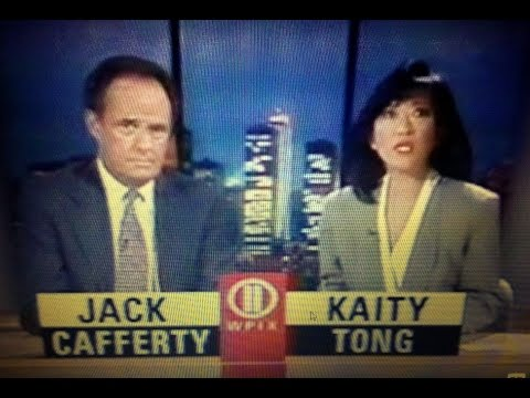 WPIX NY NEWS-September 29, 1993-Jack Cafferty, Kaity Tong