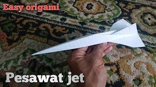 Cara membuat roket mudah dari kertas lipat (kerajinan kertas origami)