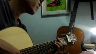 Yêu không hối hận guitar solo