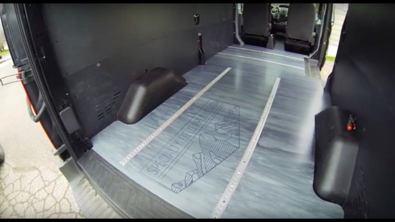 Vlog 6 Ford Transit Production Van Build Floors L