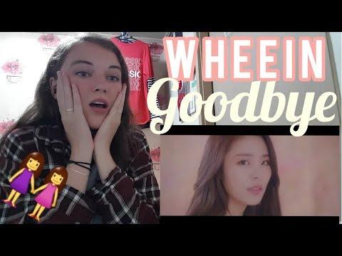 [MV] 휘인 (WHEEIN) - 헤어지자 (Good Bye) Reaction