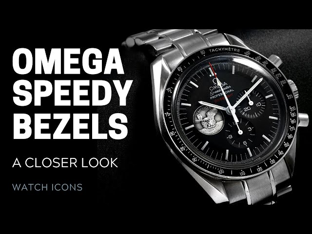 Omega Speedmaster Bezels: A Closer Look | SwissWatchExpo [Omega Watches]