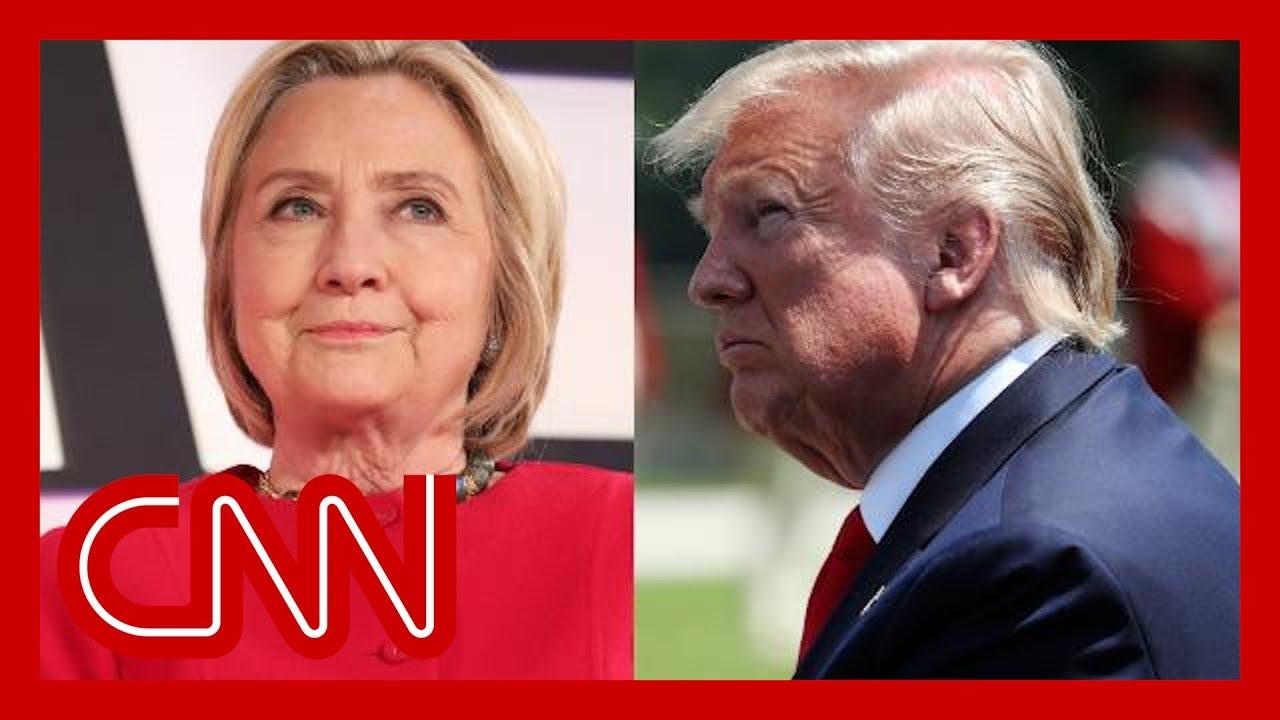CNN:See Clinton's biting response to Trump's new conspiracy