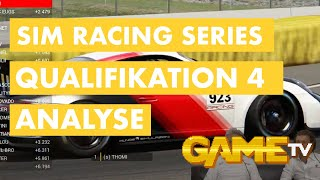 Game TV Schweiz - SIM Racing Series Qualifikation 4 | Rennanalyse | 14.08.2020