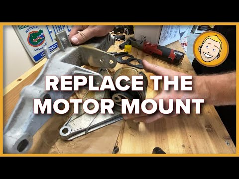 How to REPLACE THE MOTOR MOUNT on a Porsche Boxster 986 | DIY (Project 10)