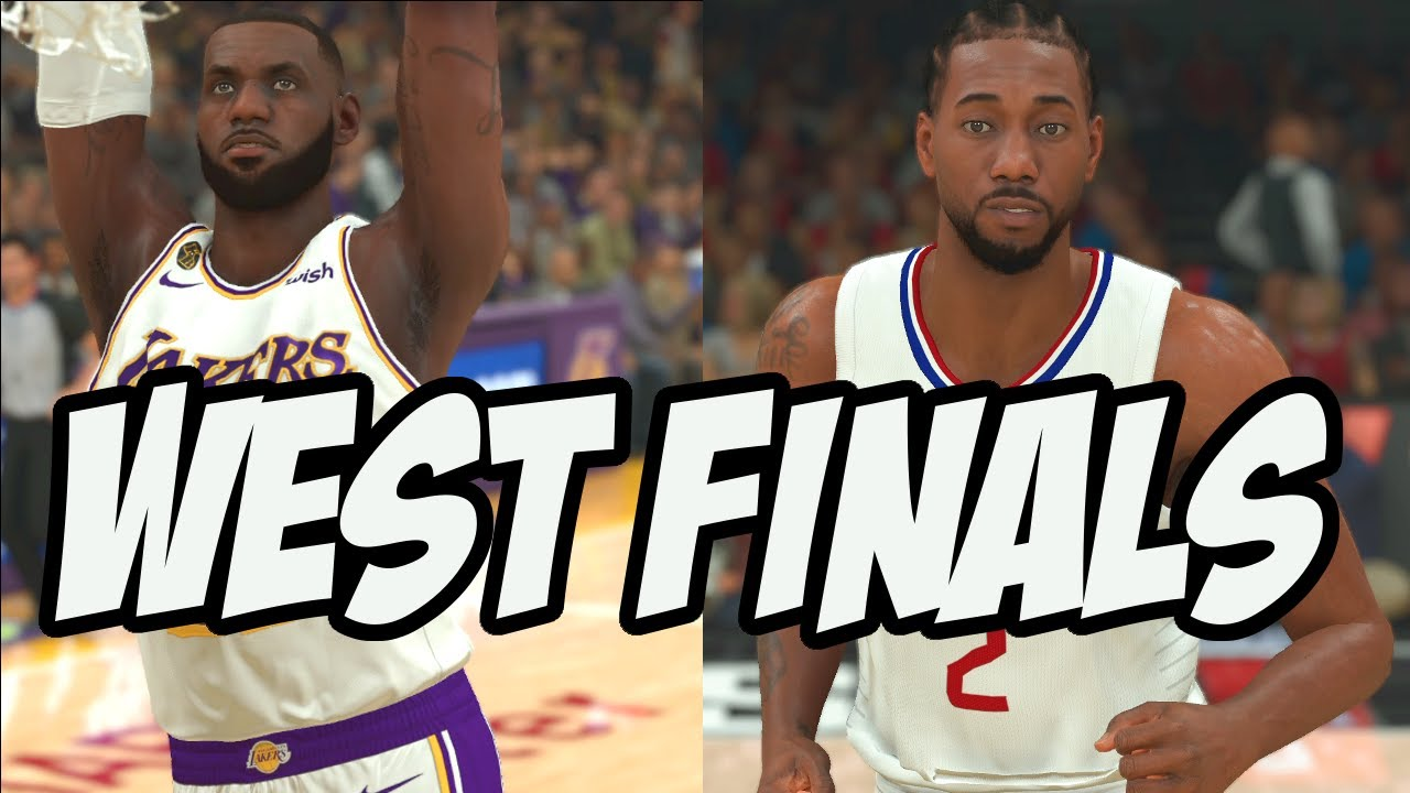 Lakers Vs Clippers West Finals Preview | NBA 2k20 ...
