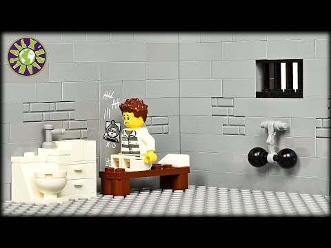 Lego Prison Break. Jail Escape. Part 2.