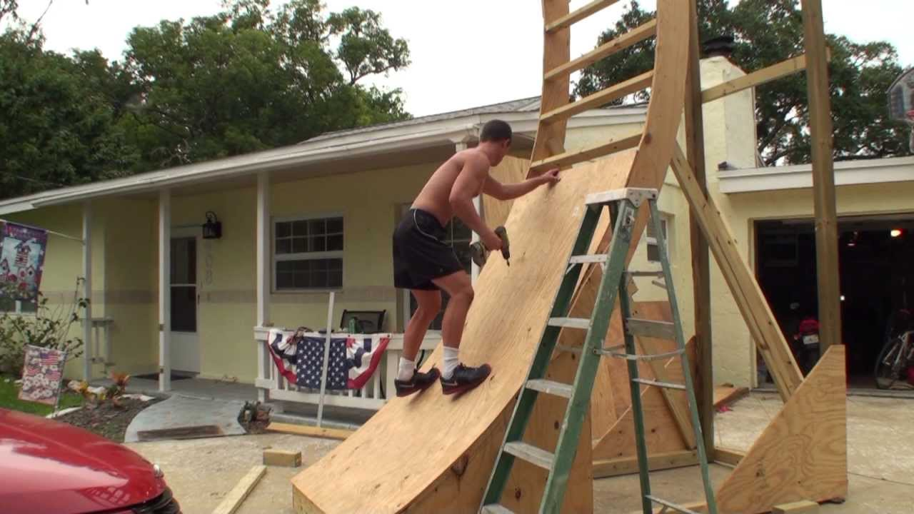 Skinning Jonathan Brown S Warped Wall Youtube