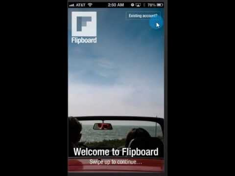 Flipboard tutorial a beginners guide from appsplanation.com for iphone, and iPod Touch