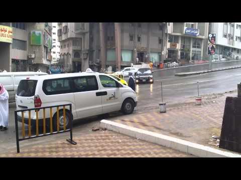 Makkah Outside Ramada Hotel - 15 02 2014 - 914am - Umrah Kalimah Tours.m4v