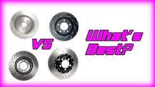 Plain vs. Drilled vs. Slotted. vs ??? Rotors - What's what?