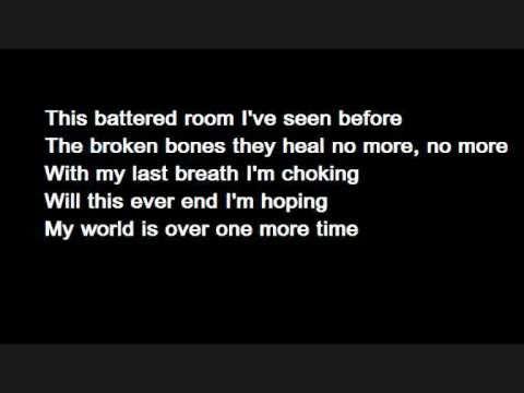Bullet For My Valentine - Tears don't fall (Lyrics)