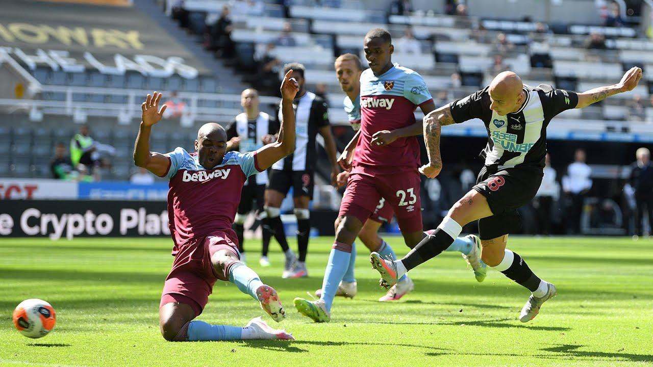 MATCH CAM 🎥 | Newcastle United 2 West Ham 2 | Premier League Highlights