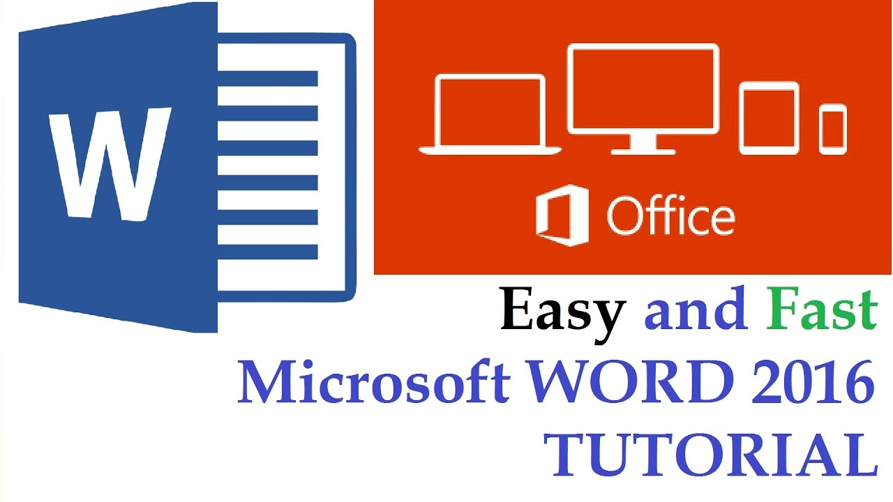 microsoft word 2016 tutorial the beginner guide cover page microsoft word 2016 tutorial the beginner guide cover page blank page page break