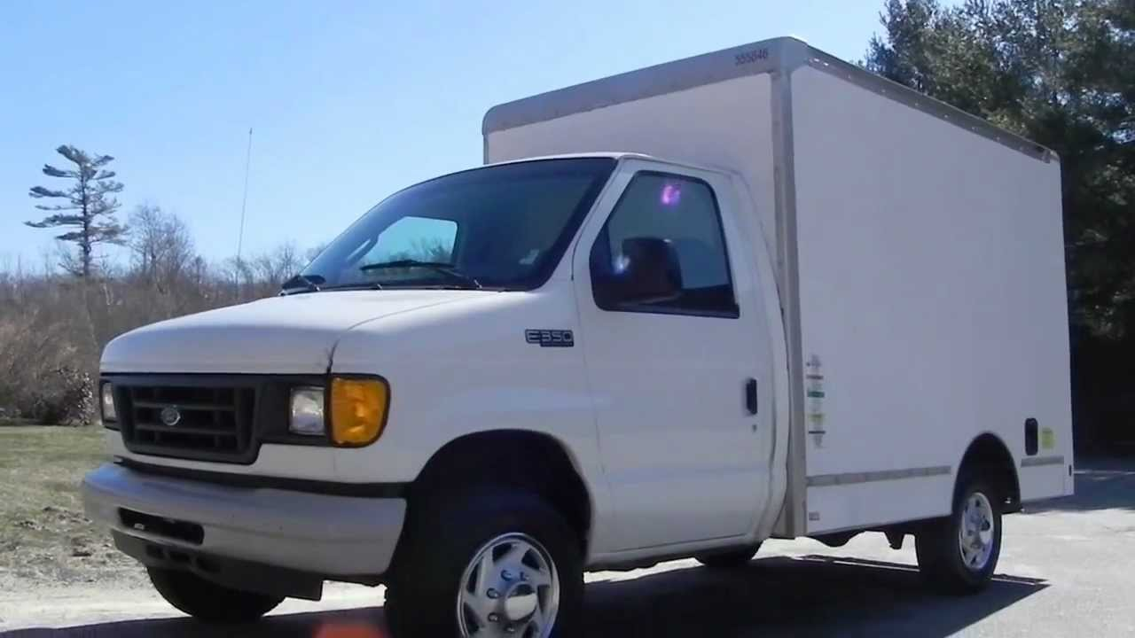 2005 Ford E350 Super Duty Cutaway Van 10ft Supreme Box 5