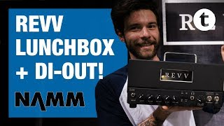 NAMM 2019 | New REVV & Two Notes Amp D20 & G4 Pedal | Thomann