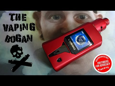 Laisimo Wayvern | 235W Mod | Full Review | The Vaping Bogan