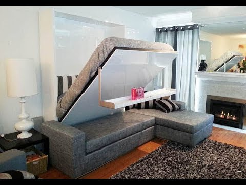 HiTech   SMART FURNITURE SOLUTION   Great Space Saving Ideas 2018   By Tech Knock