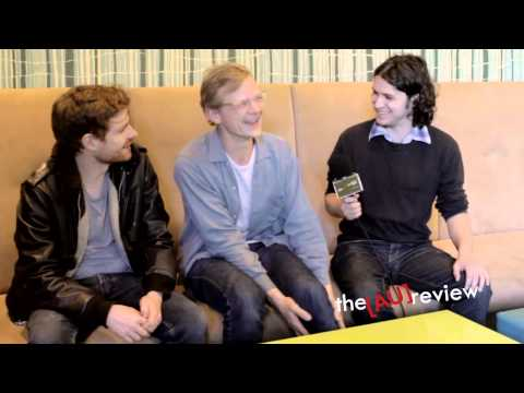 Django Django (UK) in conversation with the AU review after Splendour in the Grass (2012).