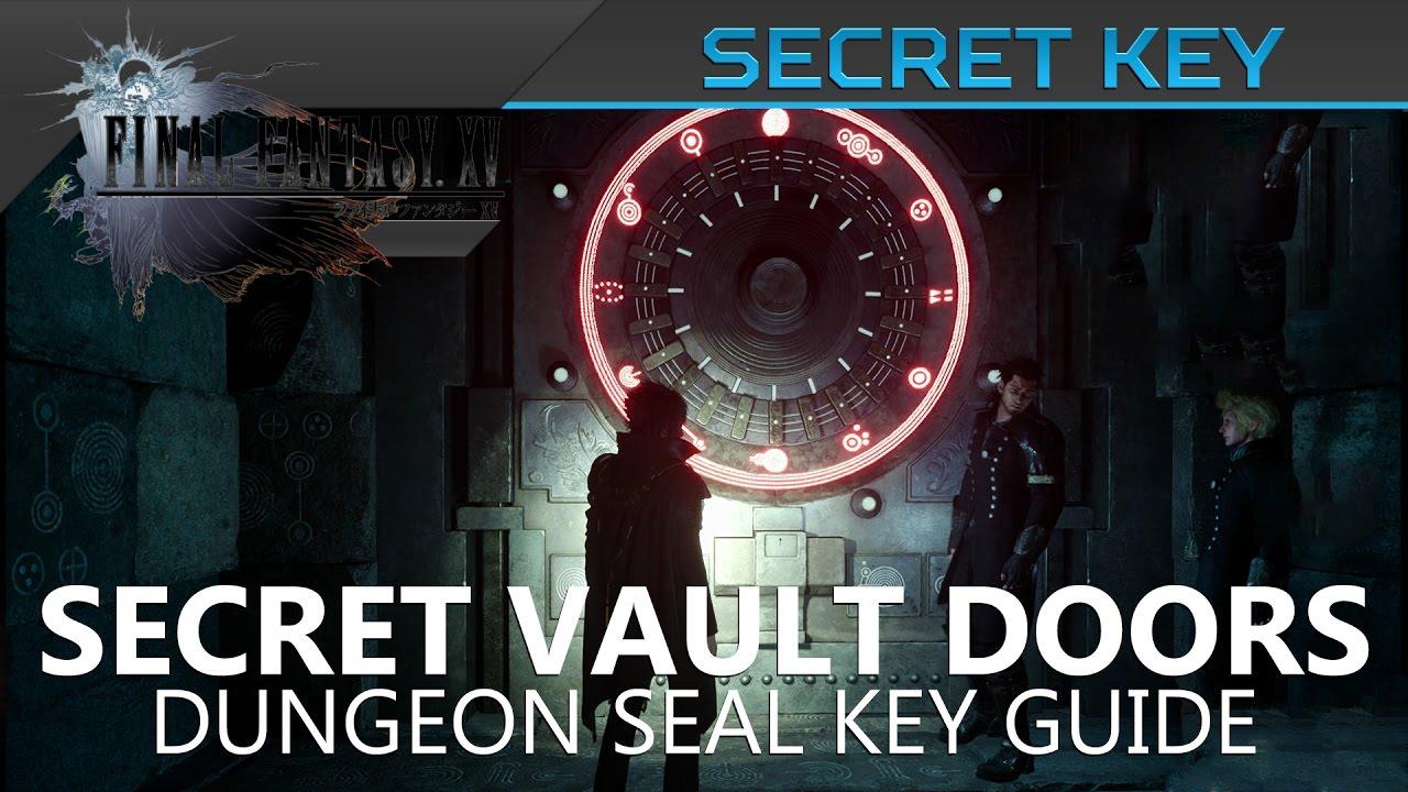 Ffxv How To Unlock Dungeon Locked Door Youtube