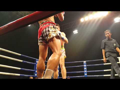 Jom Kitti vs Rafi Bohic  Round 1. August 2015