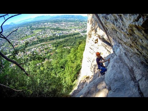 Klettersteig Känzele : Känzele klettersteig bregenz youtube